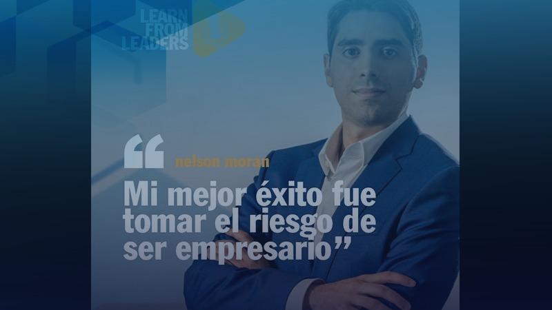 Obsinews Nelson Moran: «Mi mejor éxito fue tomar el riesgo de ser empresario»