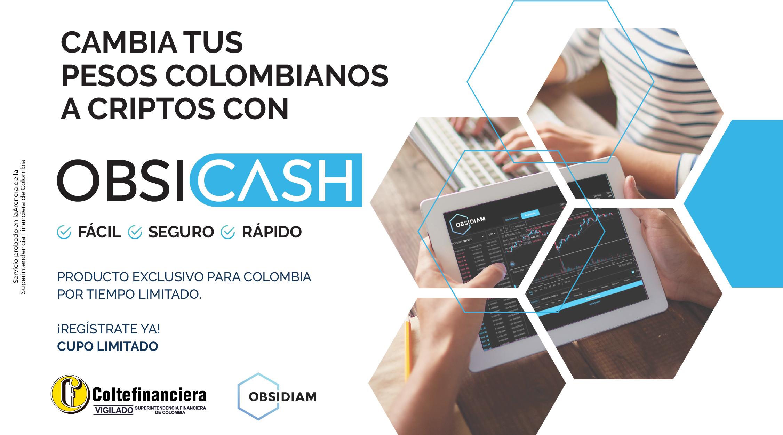 Obsicash criptomonedas y pesos